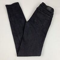 American Eagle Skinny Jeans Women's Size 0 Super Stretch Black Low Rise