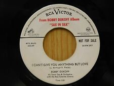 Bobby Dukoff 45 I Can't Give You Anything But Love - RCA VG+ jazz pop