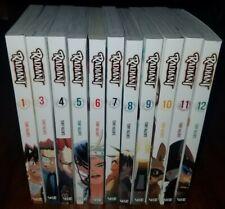 Radiant 11 Volumes ( missing#2 )English Manga Graphic Novels Set Lot Brand New