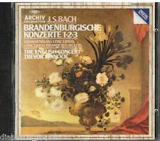 Bach: Concerti Brandenburghesi N.1,2,3 / Trevor Pinnock, English Concert - CD
