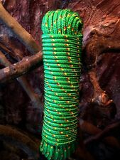 Nr.19 Grünes Schot 14 mm,30m,Expanderseil,Planenseil,Kunststoffseil,Seil,Leine