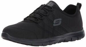 Skechers Women's Shoes Ghenter-Srelt Low Top Bungee Running, Black, Size 8.0 nTV
