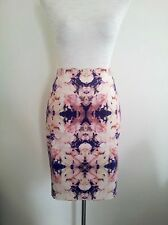 Pretty Pastels! Saba size 8 pastel cotton lined skirt in excellent condition