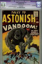 Tales to Astonish  #17-CGC 8.5 (restored)- HIGRADE PREHERO MARVEL- 1961 SILVERAG