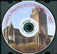 LIVERPOOL, 1827 - GORE's DIRECTORY - Family History CD