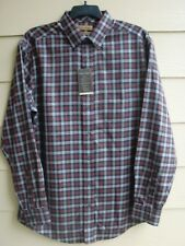 GOLD LABEL Dress Shirt~Size LT~SR $79.50~by Round Tree &  Yorke~Reds,Gray& Green