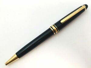 Y5645  MONTBLANC MEISTERSTUCK 164 Ballpoint Pen* Gold & Black