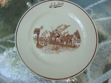 "Vintage Restaurant Ware Iroquois China Schuler's Pub Dinner 9 3/4"" Plate Dish!"