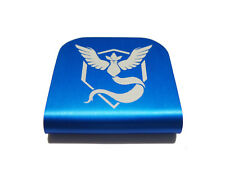 Pokemon Go Team Mystic Hat Clip - Blue for Tactical Patch Caps by Morale Tags