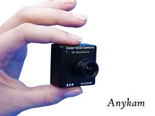Minikamera 3x3cm 520TVL mini Überwachungskamera Sony CCD versteckte Überwachung
