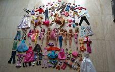 Muñecas barbie/accesorios Bundle en muy buena condición 120+ artículos (ver fotos)