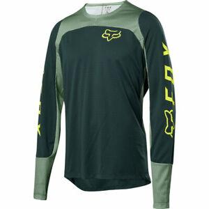Fox Racing Defend Long Sleeve L/S Fox Jersey Emerald