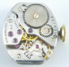 Vintage Waltham Ladies Wristwatch Movement - Caliber 678 - Parts / Repair