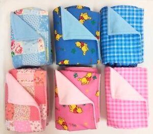 Baby blanket, Shower gift, Pushchair, Pram, Moses Basket, Car Seat, Pink Blue