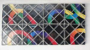 Matchbox Rubik's, Magic Rings Puzzle, Black, 8 squares, 1986