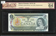 1973 Bank of Canada $1 Replacement Banknote - *FA3280663