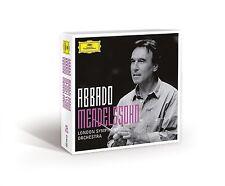 ABBADO - MENDELSSOHN (ABBADO SYMPHONY EDITION) 5 CD NEU BARTHOLDY,FELIX