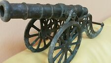 VINTAGE TOY CANNON METAL GUN Artillery FIELD WEPON ART DECO LARGE SEE OTHERS