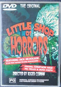The Original   Little Shop of Horrors   Jack Nicholson   DVD   B&W  1960