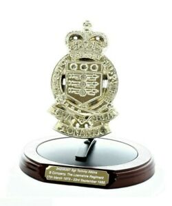 The Royal Army Ordnance Corps: Solid Brass Presentation Set (With Engraving)