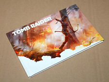 Tomb Raider Survival Edition Artbook Art Book Buch PS3 Xbox 360