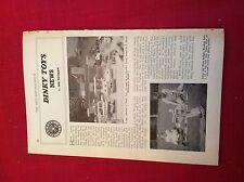 m12y ephemera 1950/s picture dinky toys club lorna brian bridges reading