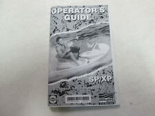 2001 Sea Doo SP XP Operator Guide Owners Manual English French OEM BOOK ***