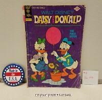 ❤VINTAGE Walt Disney Daisy & Donald Comic #8 Jan,1975 UNIQUE VALENTINE'S GIFT