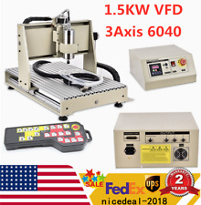 New Listing15kw 3 Axis 6040 Cnc Router Metal Engraver Drill Amp Milling Machinecontroller