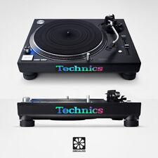 Technics Logo - Pearlescant Effect - Decal Sticker - SL-1200 SL-1210 MK2 MK3 MK7