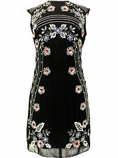 BNWT Gatsby BLACK Dress Tunic Top Evening 1920's Shift Dress Size 8 to 24