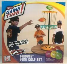WHAM-O Mini Frisbee DISC Golf Indoor & Outdoor Toy Set *NEW* SHIPS FAST Ages 5+