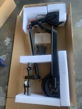Electric Scooter - Black 8 Inch Wheels