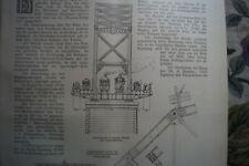 1888 62 Alte Cincinnati Southern Bridge Ohio Eisenbahn USA