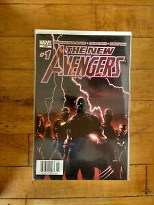 MARVEL The New Avengers #1 Unread Condition Finch 1st Print