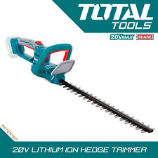 Total Tools Lithium-ion Hedge Trimmer 20v Cordless Battery Lightweight Body Only