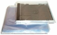 "500-Pak CD SHRINK BAGS 6"" x 7"" for Manual Heat-Sealers (100 gauge)"
