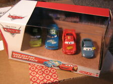 DISNEY CARS 2 RACE DAY 4-PACK TRUNK FRESH SPARE-O-MINT MCQUEEN MARTY BRAKEBURST