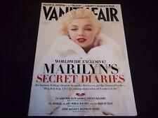 2010 NOVEMBER VANITY FAIR MAGAZINE - MARILYN MONROE - FASHION ISSUE - D 2129