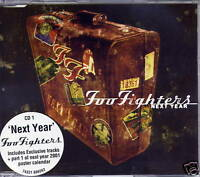 FOO FIGHTERS Next Year 2000 UK 3-track CD single + Poster NEW