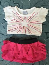 Build A Bear Skirt And Top Outfit