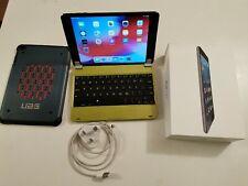 Apple iPad mini 2 128GB, Wi-Fi, 7.9in - Space Grey bundle box case and keypad