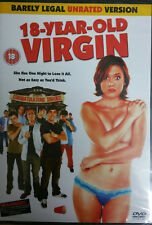 18 YEAR OLD VIRGIN - NEW SEALED DVD - ADULT COMEDY