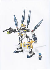 LEGO SET 8103 - EXO FORCE SKY GUARDIAN, COMPLETE, RARE,  WITH ORIGINAL BOX