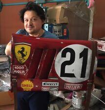 "Ford V Ferrari 250 GTO Grand Prix Le mans ""66 race car wall art panel Handmade.."