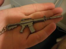 AR 15 - Assault Rifle**Keychain** (( WITH  SILENCER ))***Free  Shipping**