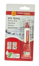 Gutermann Creative HT2 Textile Fabric Glue 20g  Wash & Dry Clean Solvent-free