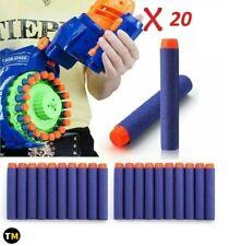 20 pc 7.2 cm fléchettes pour NERF N-Strike Elite Gun Soft Recharge de balles
