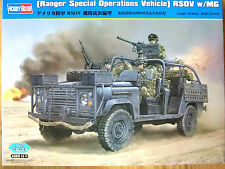 Hobbyboss 1:35 ranger special operations vehicle RSOV avec mg model kit