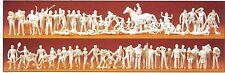 Sport und Freizeit 80 unbemalte Figuren Preiser 16346 Spur HO (16,5 mm)Zubehör